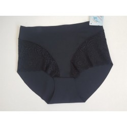 Culotte taille haute invisible-violet