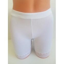 Short culotte coton - Blanc