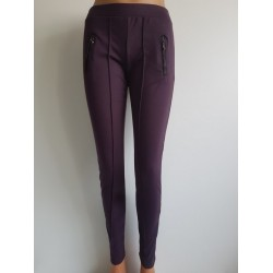 Leggins activewear Marron