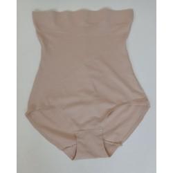 Culotte gaine taille haute invisible-beige